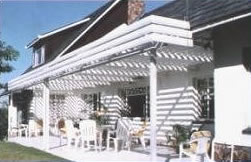 Louvre Deck Adjustable Awnings