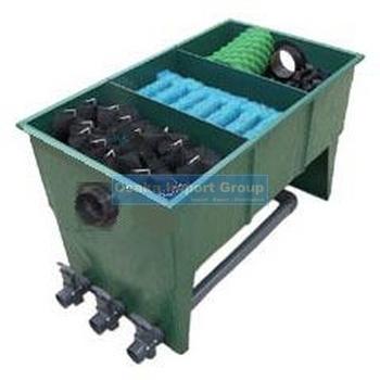 3 chamber multi segments frp koi pond filter buy for Multi chamber filter systems for ponds