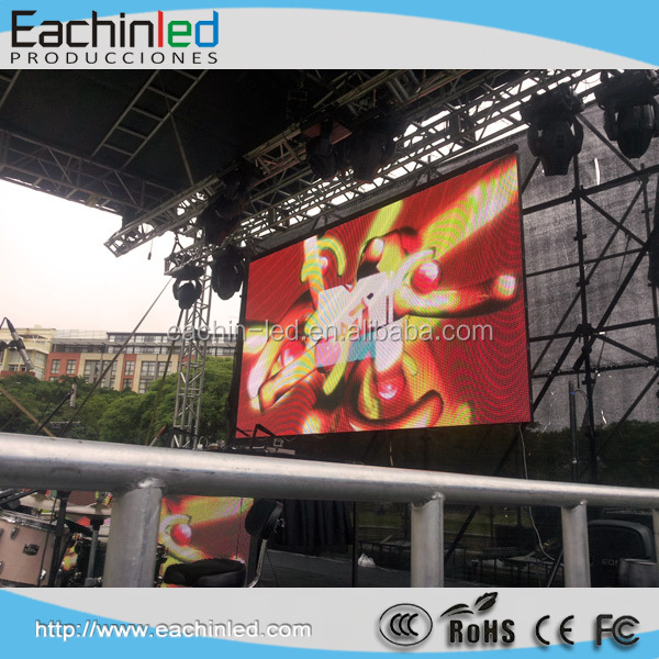 P4 P5 Wholesale outdoor led tv led screen for showing movies outdoors