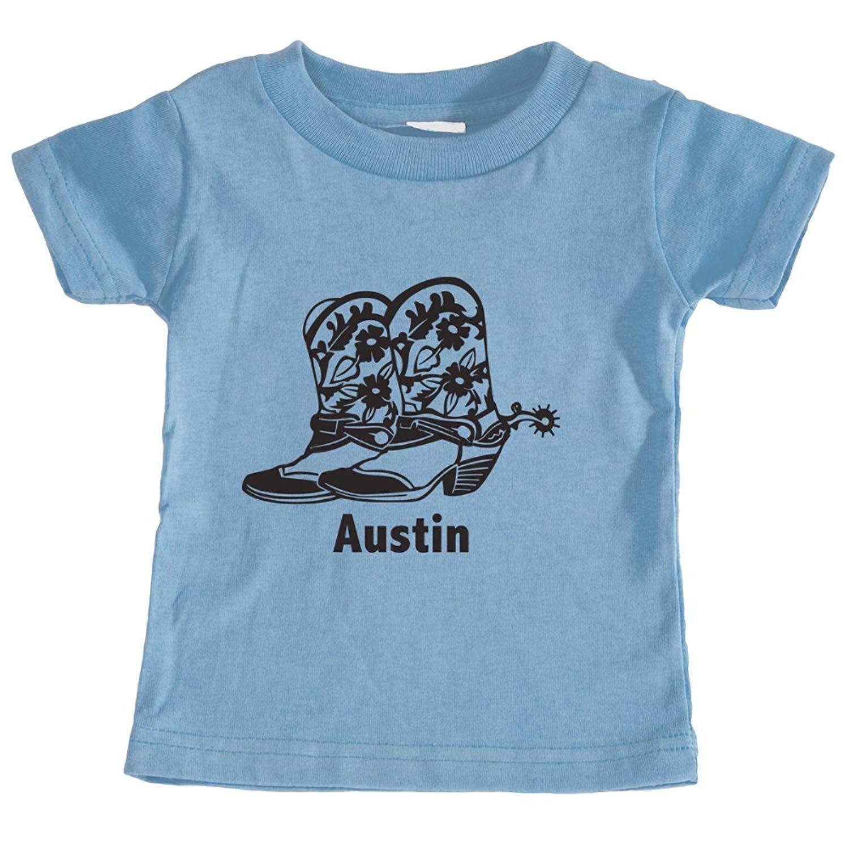 Austin, Texas Cowboy Boots - Unisex Infant T-Shirt