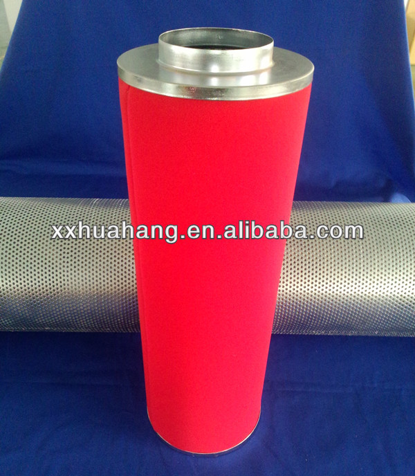 "39"" Length Activated carbon filter,dust filter for fan"