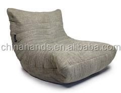 Fabric Bean Bag Chair Design Corner Sofa Rest