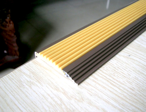 Black Rubber Stair Step Nosing/step Edging/stair Nosing For Antislip Strip  Of Stair