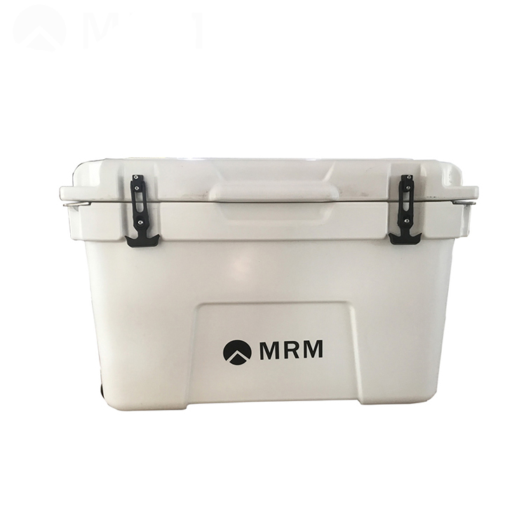 Easy moving one-piece seamless fishing plastic ice box