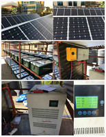 DIY solar energy system10000w 10kw solar energy home system with installation guide