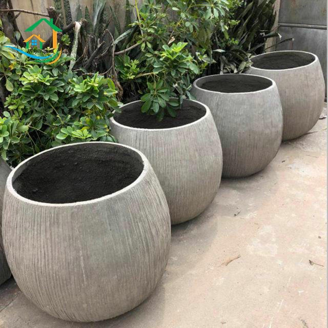 Outdoor Durable Extra Large Planters Buy Extra Large Planters Grc Flower Pot Cast Stone Planters Product On Alibaba Com