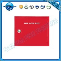 anti corrosion fiberglass Stainless Steel fire extinguisher cabinet