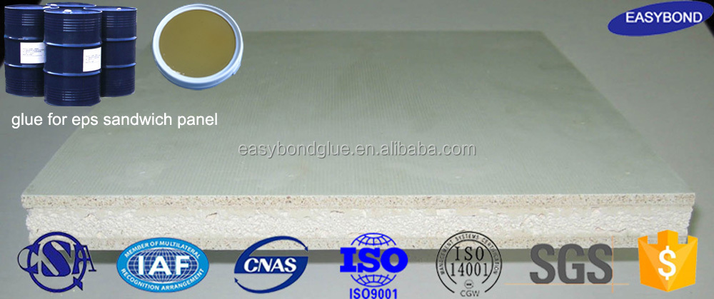 glue for eps cement sandwich wall panel