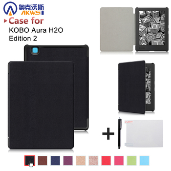 Ultra Slim Thin Cover Case For 2017 Kobo Aura H2o Edition 2 6 8