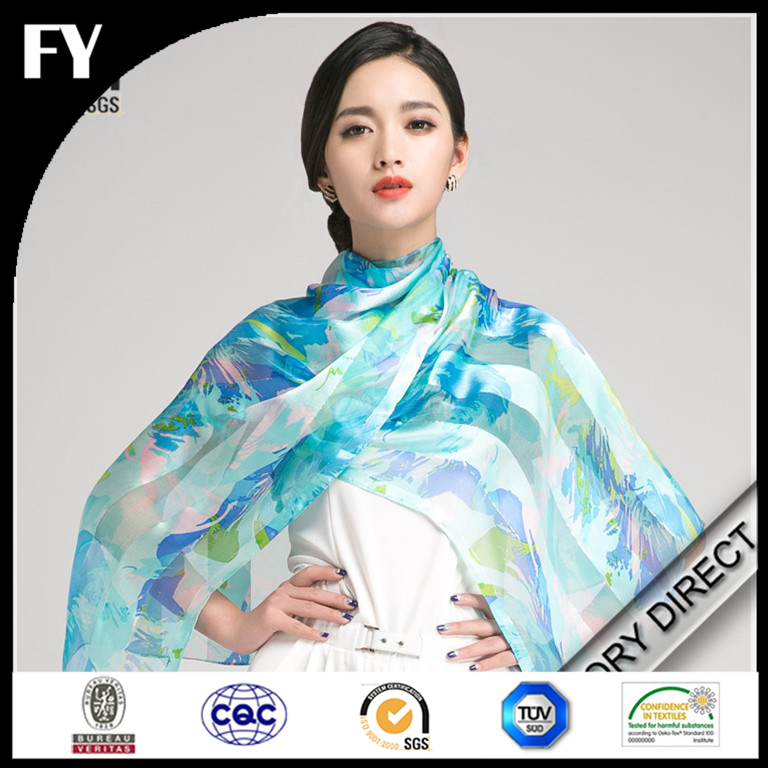 Manufactory direct custom high quality viscose stole scarves by factory