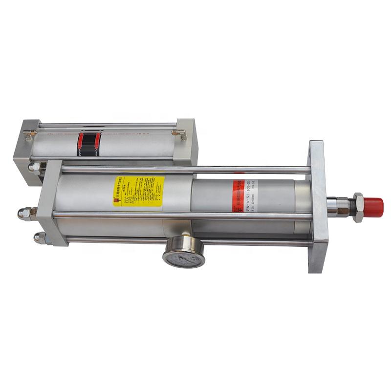 High quality mini aluminium hydro pneumatic cylinder for marking machine