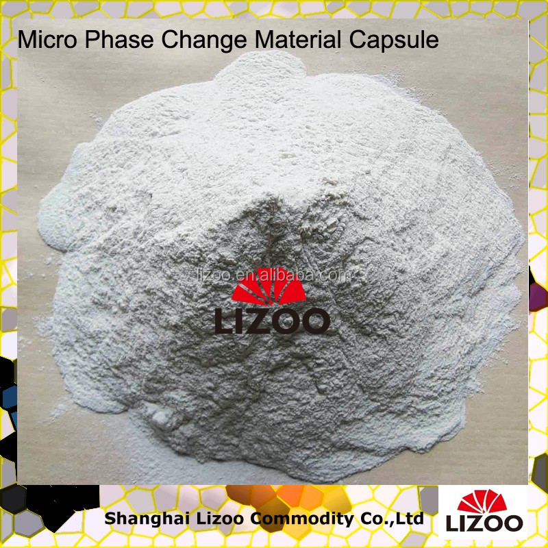 Phase Change Material capsule Industiral Applications in ...