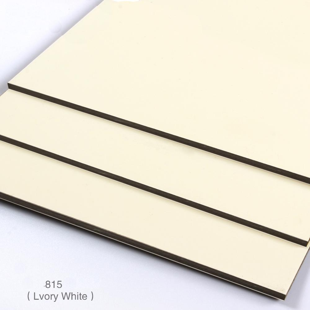 interior wall decorative solid ACP sheet wooden grain aluminum composite panel