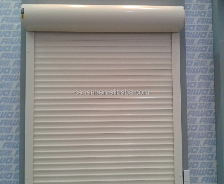 automatic aluminium roller shutter with different slat