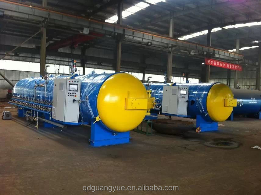 Tire retread steam autoclave machine buffing machine building machine