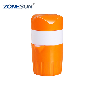 ZONESUN Orange juicer maker lemon squeezer reamers plastic manual hand press citrus juicer