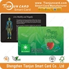 Top Seller Leaf Shape Bio Energy Negative Ion Card with Low Price, OEM
