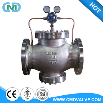 Dn300 Stainless Steel Yk43 Air Oxygen Co2 Natural Gas Pressure Reducing  Valve For Lpg - Buy Natural Gas Pressure Reducing Valve,Oxygen Pressure