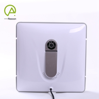 2018 Latest ABS Material Wet and Dry Auto Intelligent Window Cleaning Robot