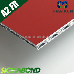 hollow sheet/hollow board / aluminum wave core composite panel