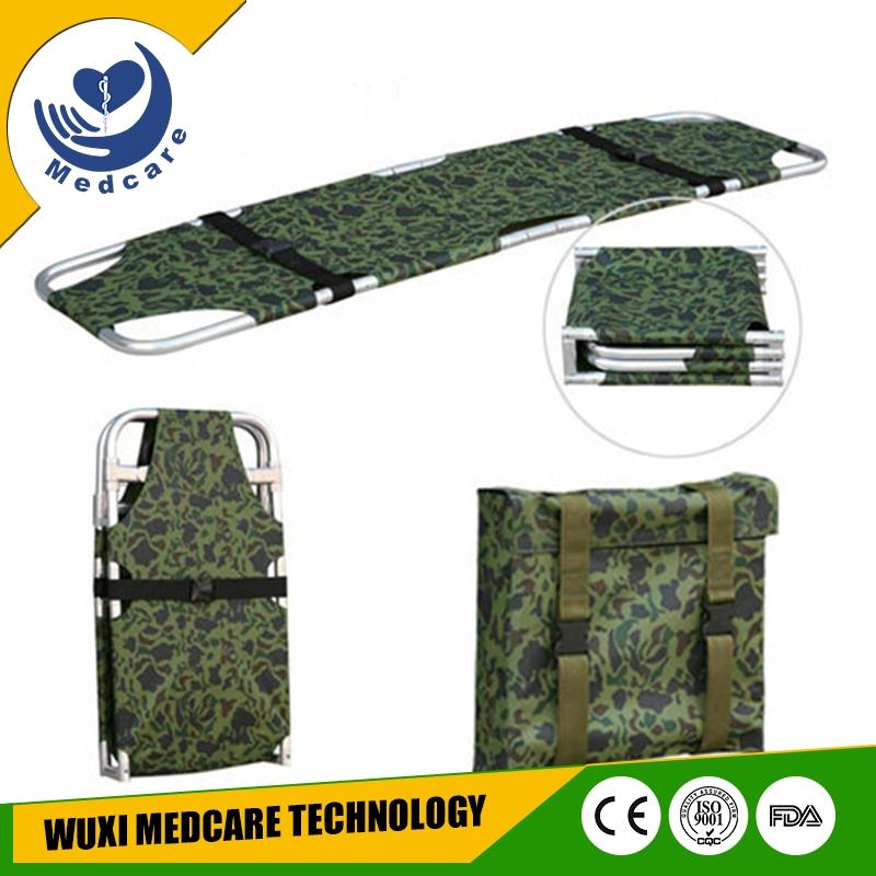 MT-F3 aluminum alloy military ambulance folding transport stretcher for rescue
