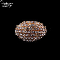 Dvacaman Brand 2017 Luxury Crystal Rings For Women Gold Plated Wedding Bridal Charm Rings Statement Jewelry Christmas Gifts H40