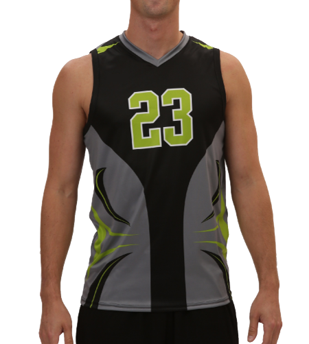 Sublimation polyester dry fit singlet design