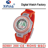 2015 fancy popular colorful plastic digital lady watch with back light