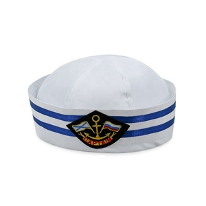 023fa8d302e63 White Sailor Hat And Cap