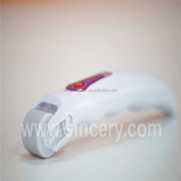 Chooseable 405nm / 633nm / 560nm / 590nm (one color for one unit) photon roller led derma roller