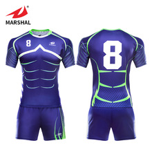 Hoge Kwaliteit sublimatie Custom blauw sport slijtage <span class=keywords><strong>rugby</strong></span> uniformen mannen OEM <span class=keywords><strong>rugby</strong></span> kits <span class=keywords><strong>rugby</strong></span> shirts <span class=keywords><strong>jersey</strong></span>