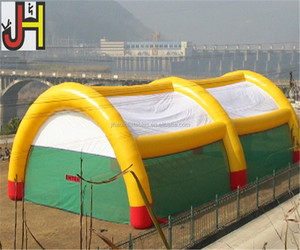 Outdoor Large Paintball Bunker Field Inflatable Sport Game Tent For Sale