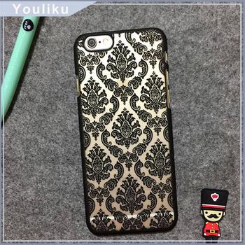 Alibaba China Beautiful Mobile Phone Flower Pattern Pc Back Covers ...