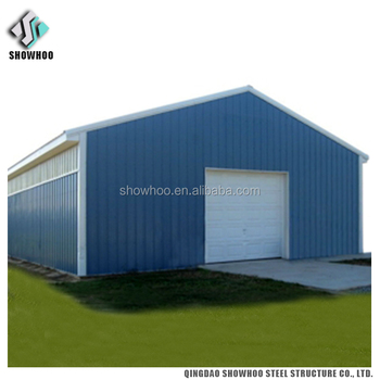 Cheap Portable Car Shed Prefabricated Sandwich Panel Garage