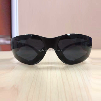 Eye work security products laser dark safety glasses