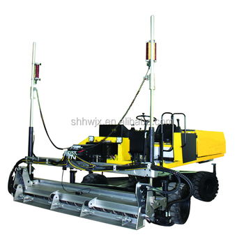 Hydraulic concrete laser screed machine self leveling screed for sale