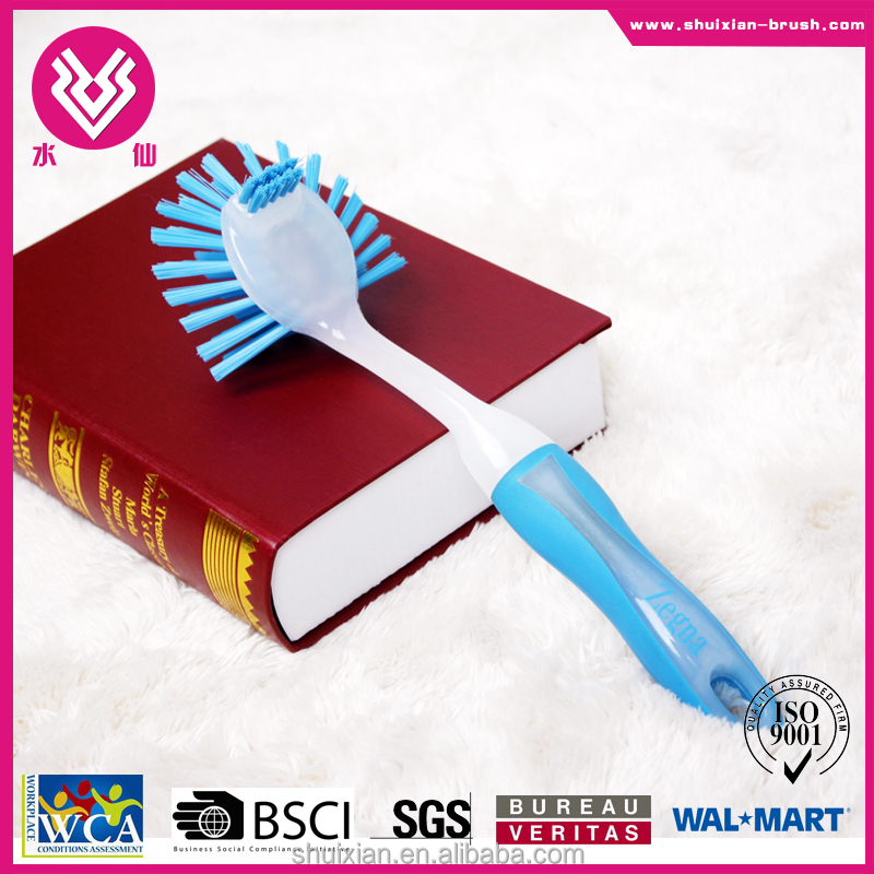 Wholesale Plastic Dish Scrubbing Brushes Kitchen Cleaning Brush