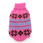 Pet Clothes sweaters dog knitting crochet clothing for doggie and puppy cat