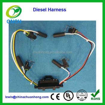 diesel glow plug wiring harness coil ignition injector wire delphi rh alibaba com