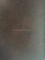 Chocolater color PVC leather for sofa furniture wholesale