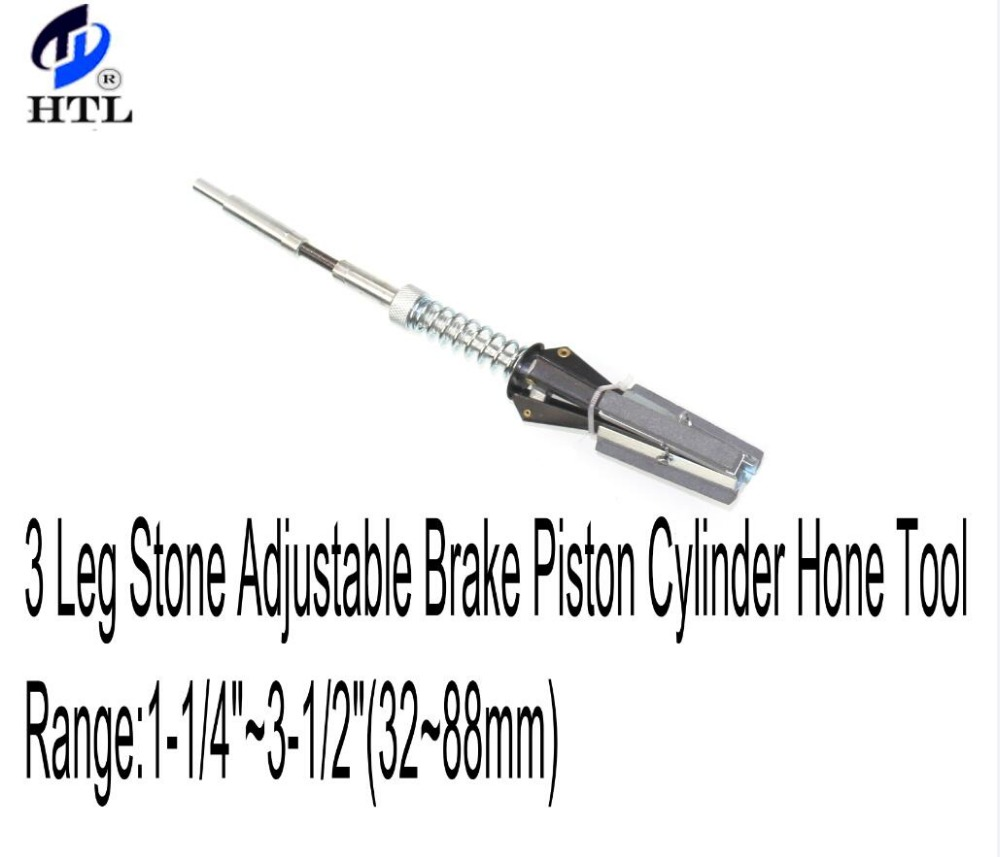 Auto Replacement Parts 3 Legs Adjustable Brake Cylinder Hone Piston With 3 Grinding Stones Tool Range:51mm-177mm Engines & Components