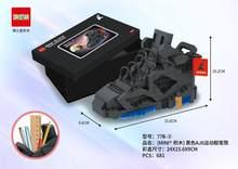 DRSTAR MINI block air super Кроссовки NO 770 536 шт Большой баскетбольный мяч милые DIY строительные блоки игрушки для подарков с цветной коробкой(Китай)