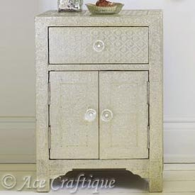Metal Embossed Nightstand, Metal Embossed Nightstand Suppliers And  Manufacturers At Alibaba.com