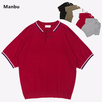 Wholesale striped rugby polo shirt no label clothing many colors for man