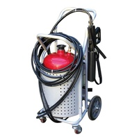 fire fighting air foam system trolley water mist fire extinguisher