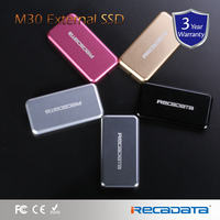 iRECADATA 120gb 240gb 480gb external ssd M30 Series solid state drive easy to carry-on with data encryption