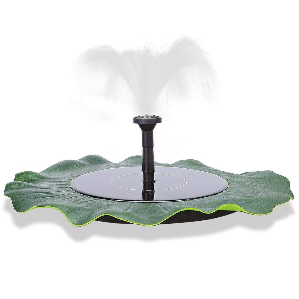 7V/1.4W Pond Garden Fish Tank Pool Solar Water Sprinkler Pump Floating Solar Fountain Power Panel Irrigation Garden Sprinklers colormix