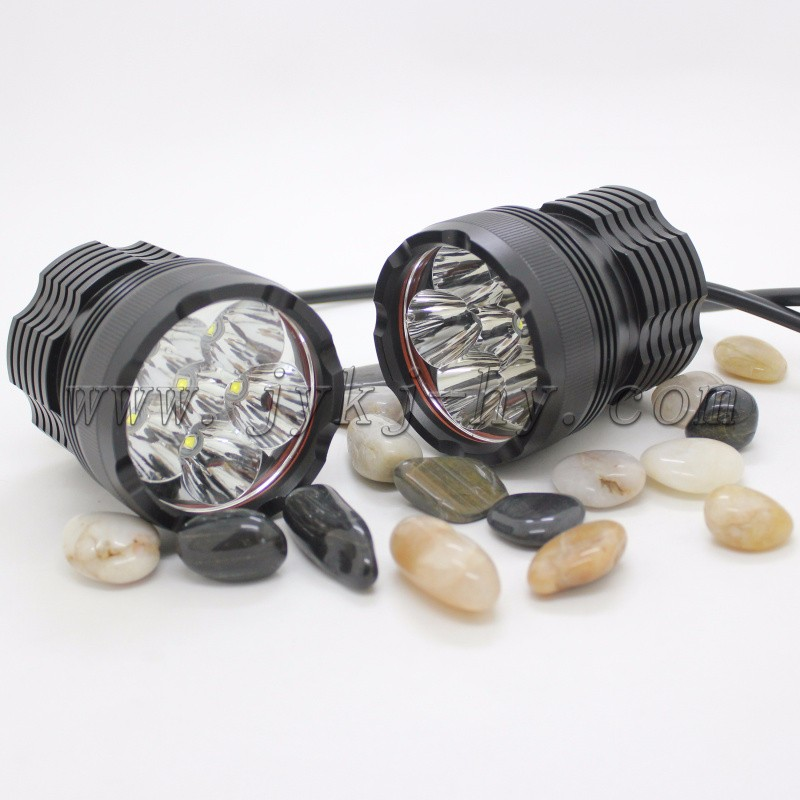 DDL factory long lifespan Round 10w 12 volt led lights motorcycles , bulk led lights