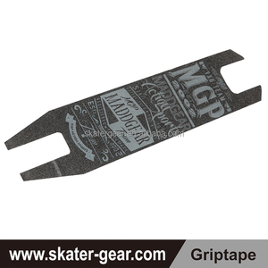 SKATERGEAR scooter deck grip tape custom logo with die cut printing