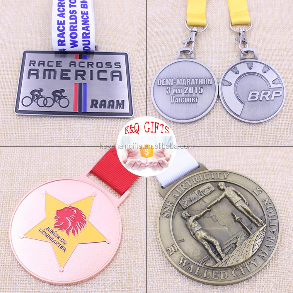 Custom Different Types Of Metal Medal/sport Medal/marathon Medal ...